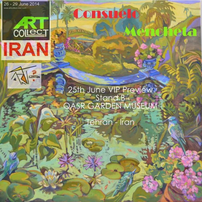 25th June VIP  Stand B QASR GARDEN MUSEUM TEHRAN - IRAN