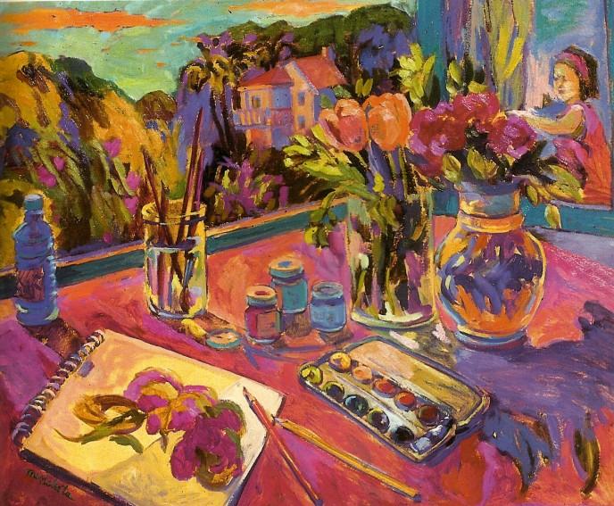 Watercolor - Mencheta